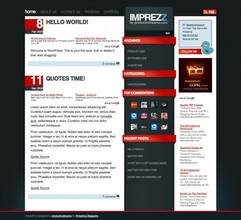 imprezz-wordpress-theme