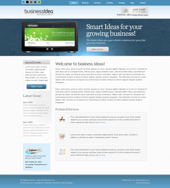 business-idea-wordpress-theme
