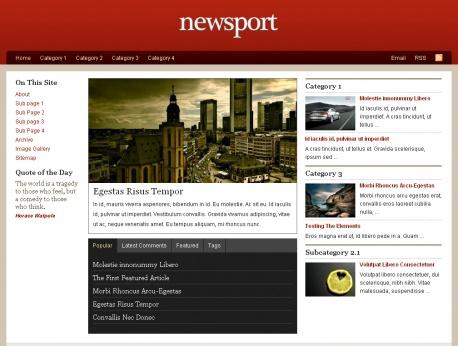 newsport-wordpress-theme