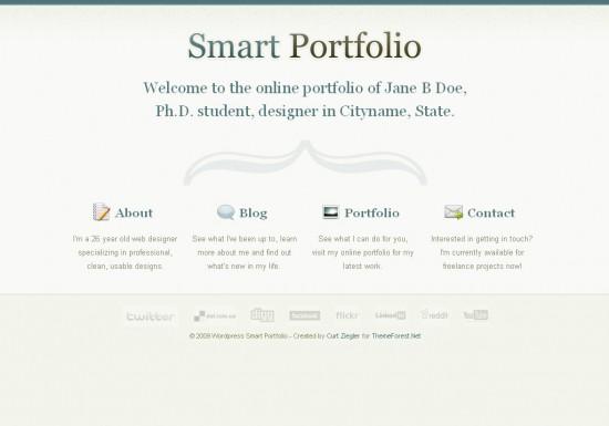 smart-portfolio-wordpress-theme