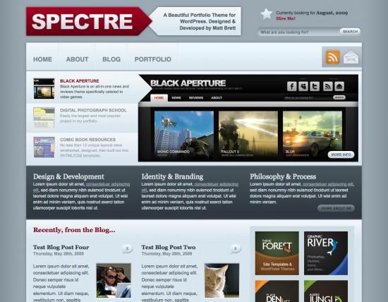 spectre-wordpress-theme