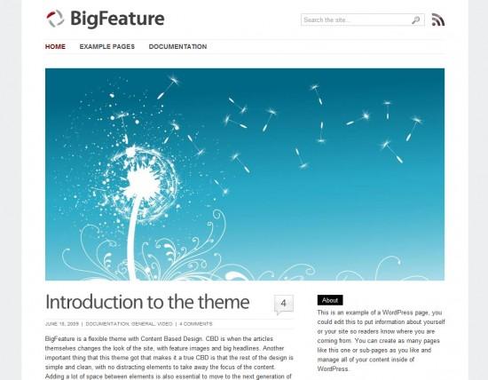 big-feature-wordpress-theme