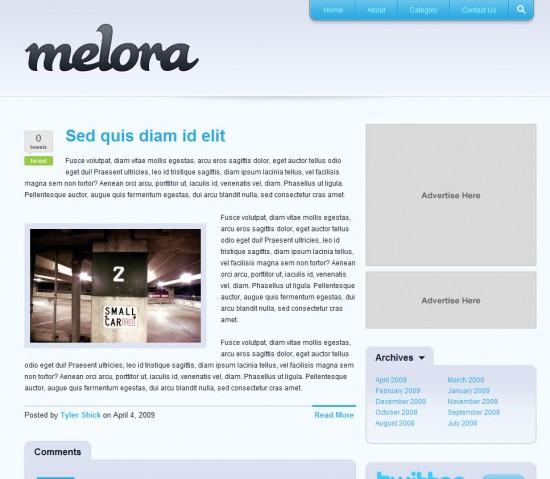 melora-wordpress-theme