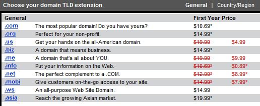 godaddy-info-domain-pricing